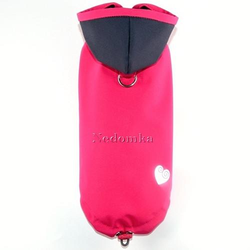 Letní softshellová pláštěnka-bunda Růžová pro fenk
