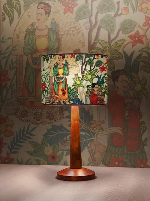 Stínítko na lampu Nespoutaná - stolní/stropní