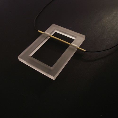 pure // brass // rectangle