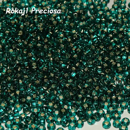 Rokajl Preciosa 6/0, S-L Emerald