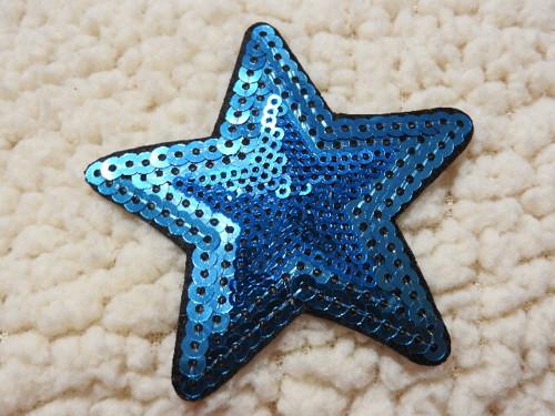 Nažehlovačka hvězda tyrkys