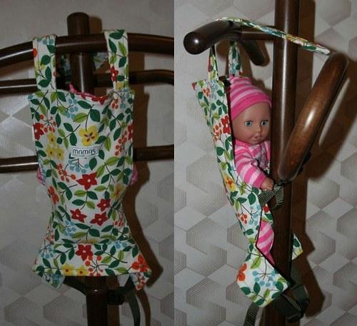 Fotonávod - nosítko nejen pro panenku