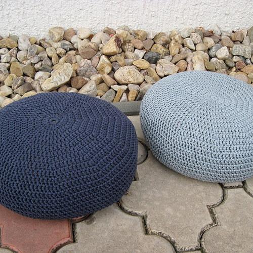 Sedák střední velikost - odstíny šedé