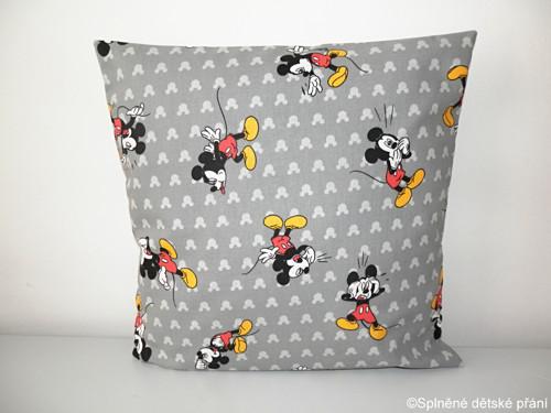 """POTAH NA POLŠTÁŘEK \""""Mickey Mouse\"""""""