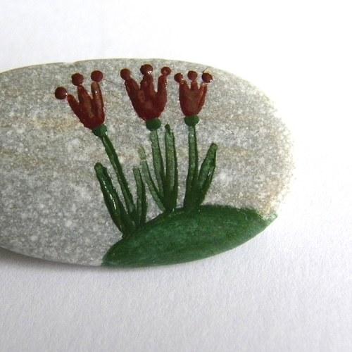 Tulipánová brož
