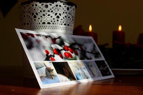 Dlouhá Vánoční pohlednice