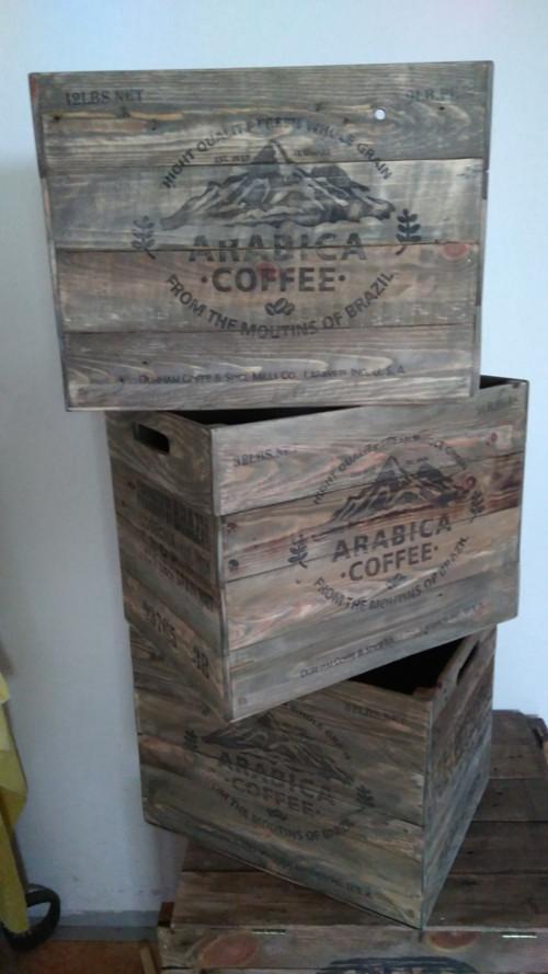 Dřevěná bedna, wood box