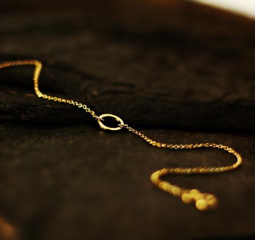 GG N°27 náramek - žluté zlato (Au 585/1000)