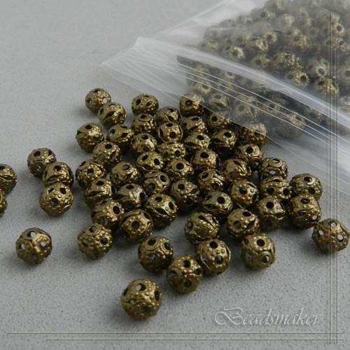 Kovové kuličky 4 mm - 10 kusů