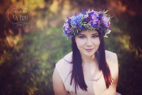 Věnec květinový