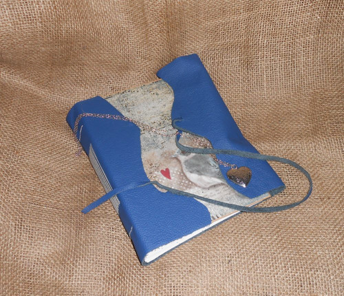 Kožený zápisník - Klíč s medailonkem (SLEVA)
