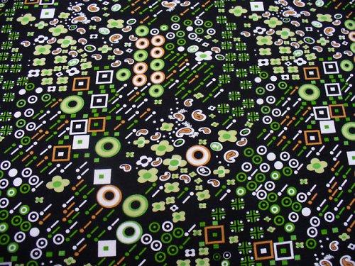 Úplet - čierno zelený