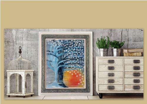 Obraz na plátně - Modrý sen