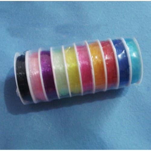 Elastické lanko - Fialové - 0,8 mm