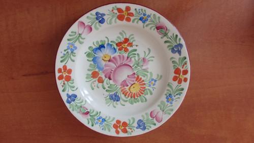 Ručně malovaný dezertní talíř Ditmar Urbach