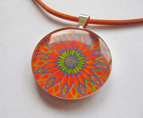 Mandala Energia slnka -v živici 2,5cm