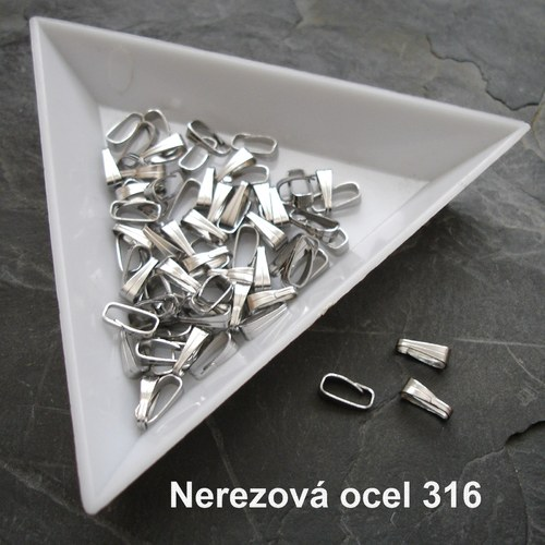 Šlupnička 6x2,5mm Stainless Steel 316 - 10 ks