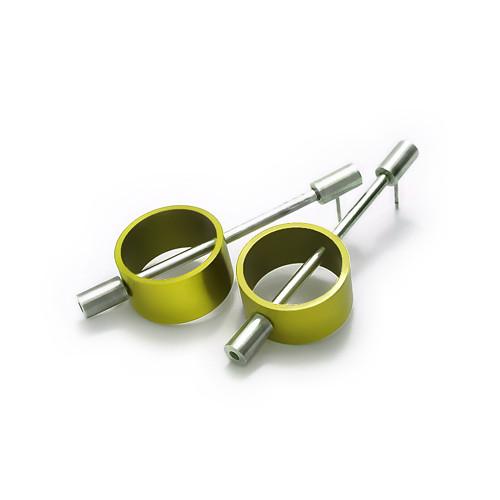 náušnice ze série [modulor] - kroužky
