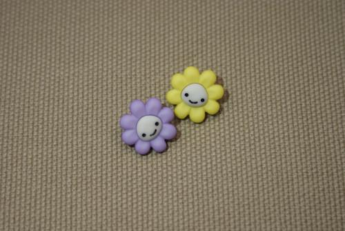 Knoflíky kytičky