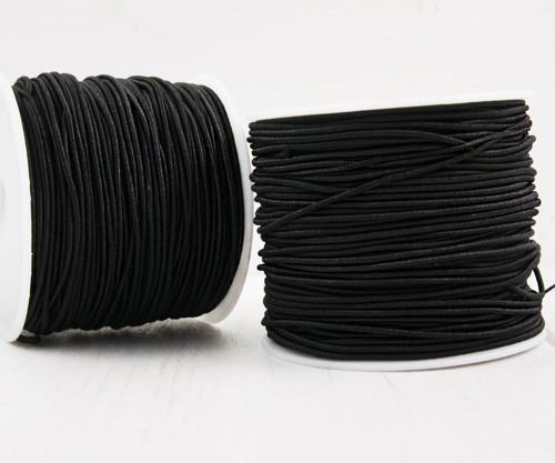 26m 84ft 28yrd Černý Kulatý Nylonový Elastický Str