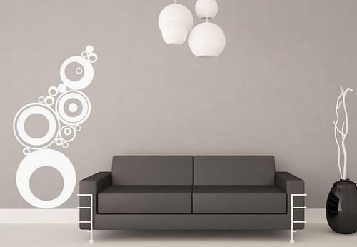 45x23cm Samolepíci dekorace na zeď 3086n
