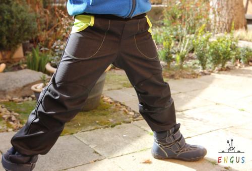 Dětské softshellové kalhoty 1.