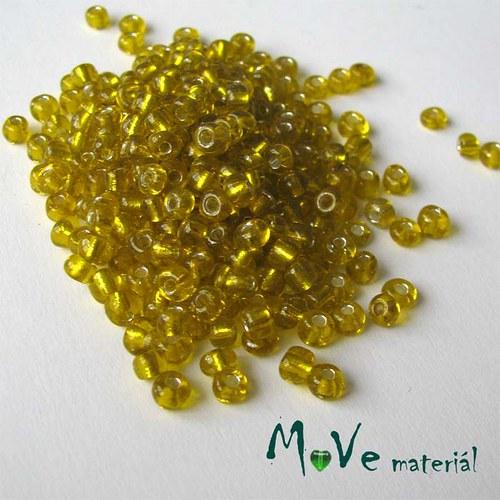 Český rokajl žlutý cca 3,5-4mm 20 g