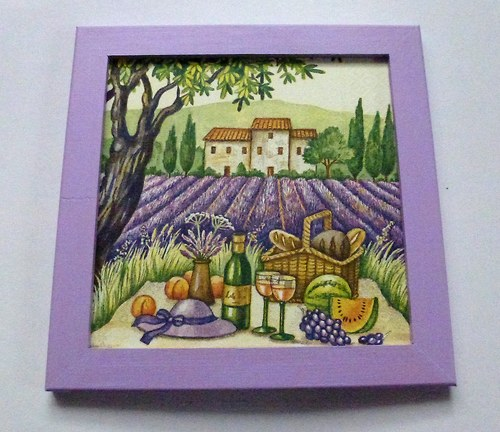 Levandulový piknik