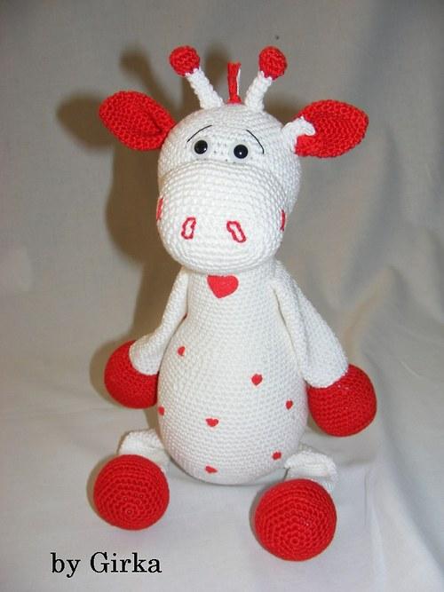 Žirafa - Láska v bílem