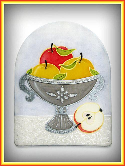 Mísa s jablíčky