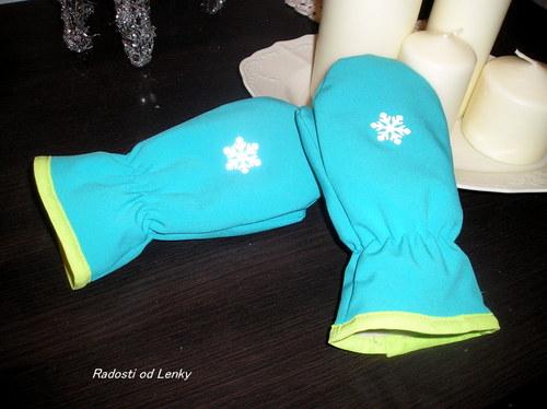 Rukavičky pro teploučké ručičky