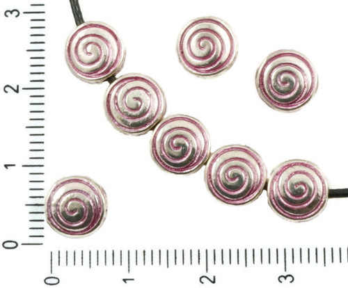 16pcs Starožitné Stříbro Tón Valentine Růžová Pati