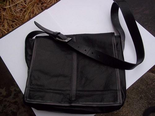 Kožená kabelka Jumbo