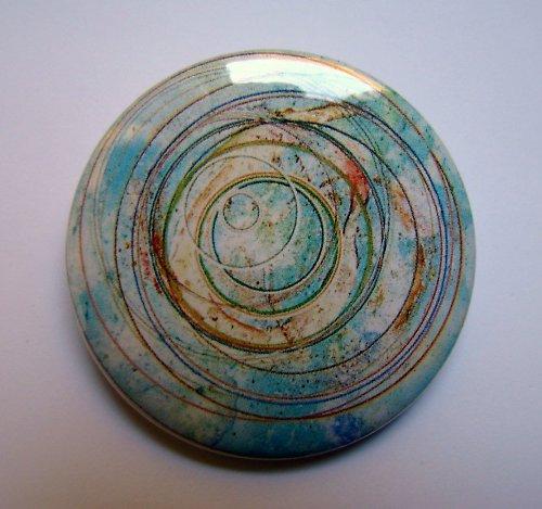 MANDALA 5 - placka - button - 44 mm