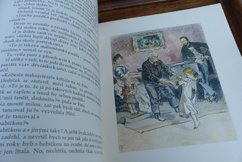 Pantáta Bezoušek...ilustrace Adolfa Kašpara, 1926