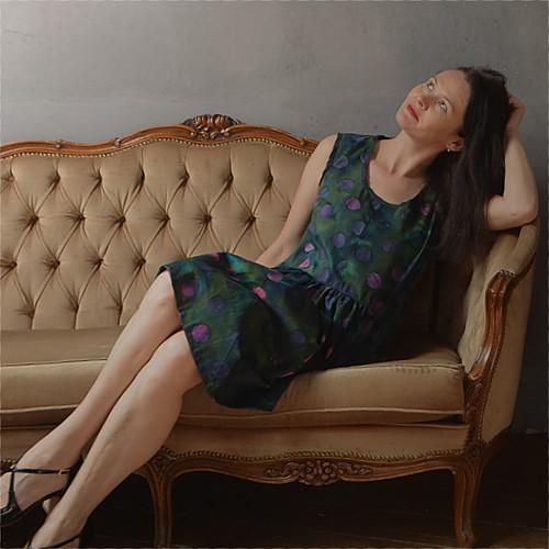 Puntíkaté - šaty