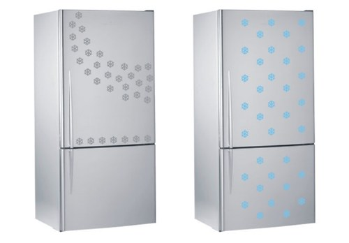 Vločky - samolepky na Vaši ledničku - 20ks
