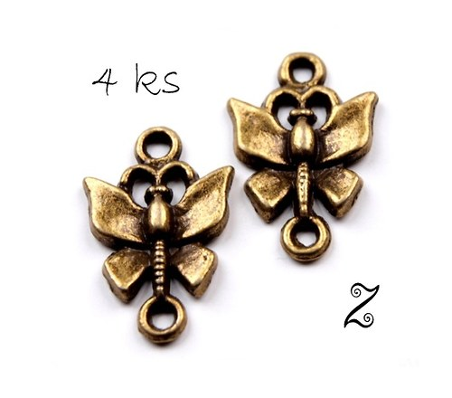 Motýl (4ks)