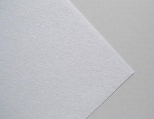 Plsť metráž bílá (šířka 45 cm) (barva č.1)