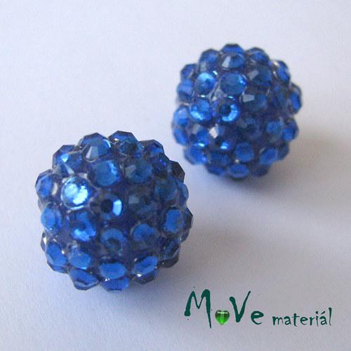 Pryskyřičný korálek - kulička 16mm,1ks, modrá
