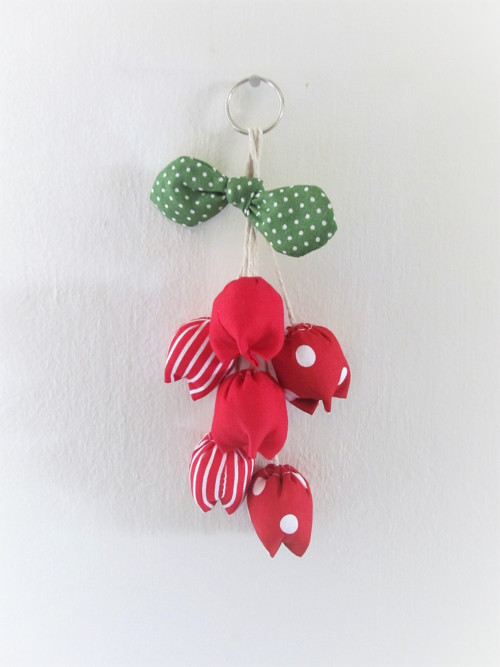 Jarní dekorace - Červené tulipány
