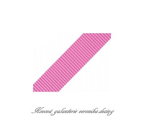 Popruh POP 4 cm - růžová