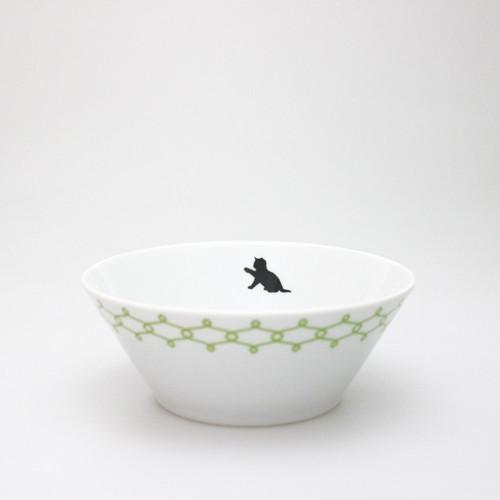 miska s kočkou