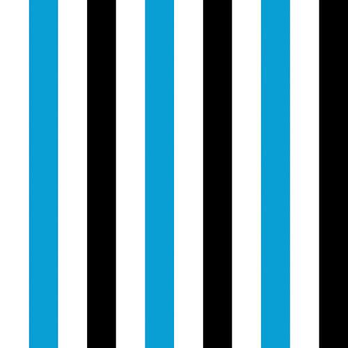 100% bavlna – Stripe Turquoise (za 0,5 m)