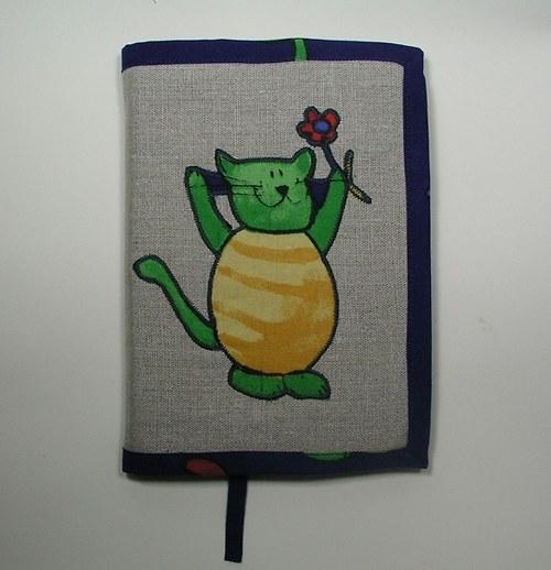 Kočičí obal na knihu