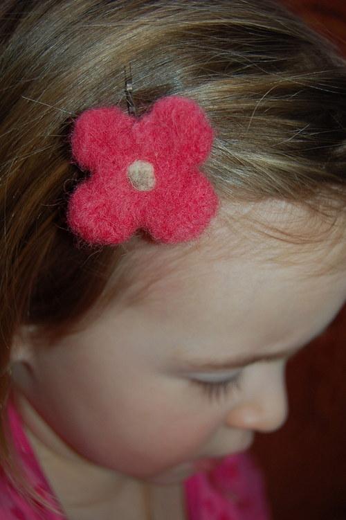 Růžová kytička