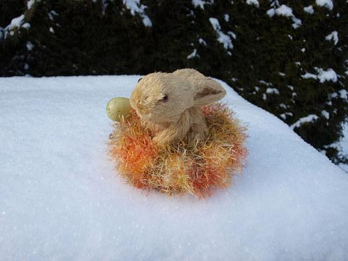 pelíšek pro zajíčka