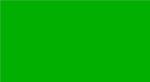 Středně zelená plsť 3mm
