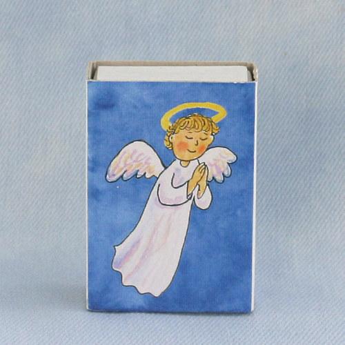 Obrázkové zápalky - andílek