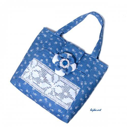 velká kabelka pro milovníky modré
